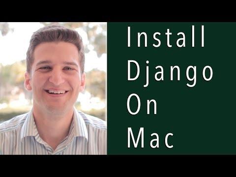 Install Django on Mac with PIP and VirtualEnv