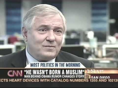Obama a Muslim? Andy Martin Changes Mind Muslim Rumor
