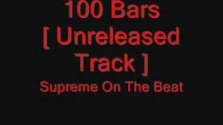 Rage617[HusH] - 100 Bars [Unreleased]