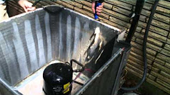 HVAC Service- Cleaning a Condenser Coil