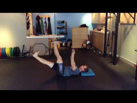 Toronto Beaches Personal Training - Core Engaged Leg Lowering (Core Stability)
