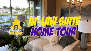 Gorgeous new-build model home with in-law suite! | Home Tour | living in orlando florida
