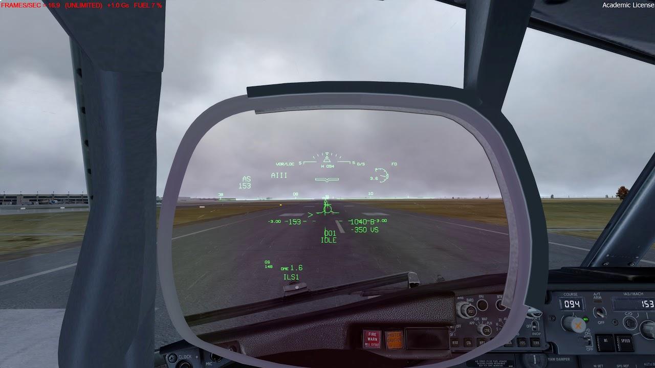 P3Dv4 3: PMDG 737 arrival KMCI (TropicalSim) - смотреть