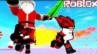 Roblox | Santa Claus is the horrible Boss | Sword Fighting Simulator | MinhMaMa