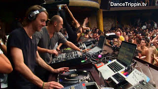 Richie Hawtin & Marco Carola [DanceTrippin] Amnesia Ibiza Closing Party  DJ Set