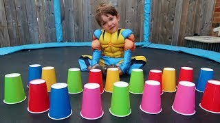 Learn Colors with Colored Cups Childern Song Nursery Rhymes