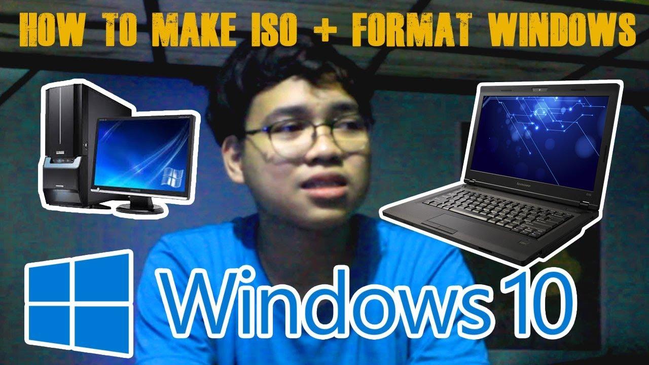 reformat laptop windows 10