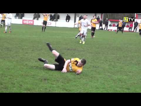 Lincoln United FC v Leek Town FC - Action