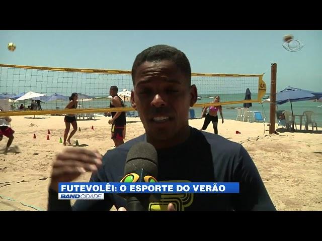 Band Cidade - Futvôlei em alta nas praias de Salvador
