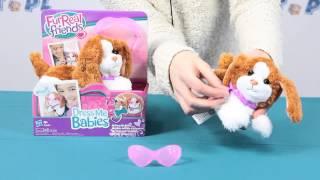 Pat 'N Play Pup Pet / Interaktywny Piesek - Dress Me Babies / Modne Zwierzaki - Furreal Friends
