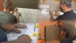 4 Types of DIY Bathroom Wall Tile Installations You Will LOVE!