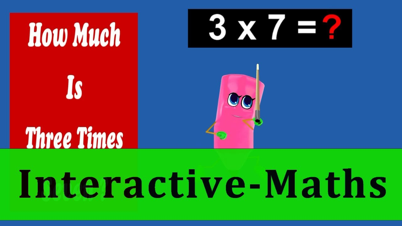 Interactive Math | 3 Times Table Quiz - 6 To 10 | Tutorial - YouTube