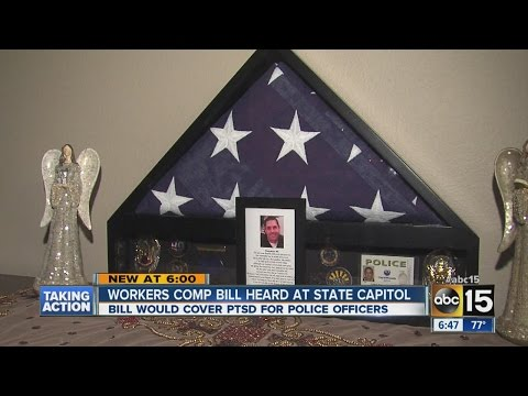 PTSD workers' comp bill heard at State Capitol.