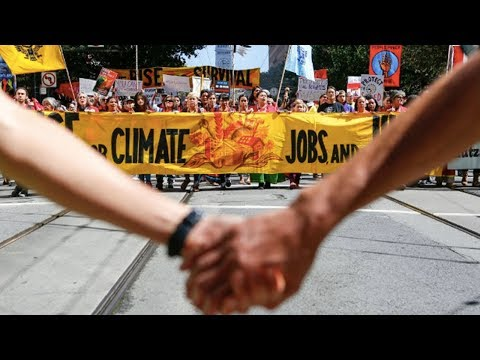 30,000 March for Climate Justice in San Francisco
