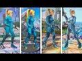 Super Smash Bros Ultimate   Samus Zero Suit Evolution   2008-2018