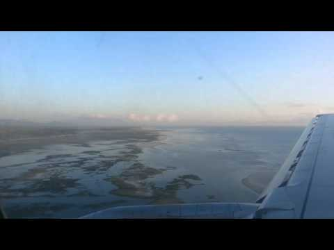 Landing-in at Puerto Princesa International Airport.