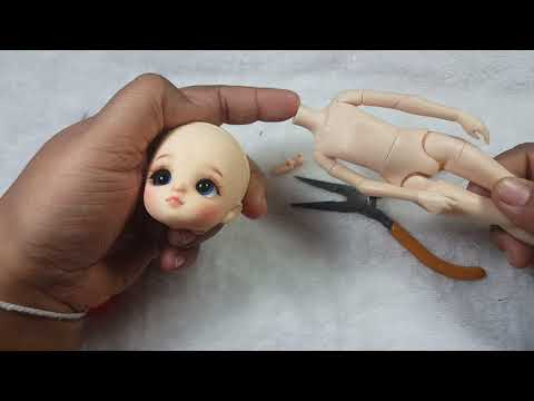 How to change body with bjd (1/8) head