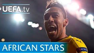 Aubameyang, Mahrez, Bakambu - 11 Africa Cup of Nations stars