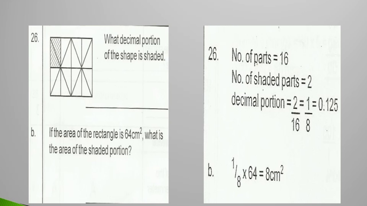 Grade 6 Paper I