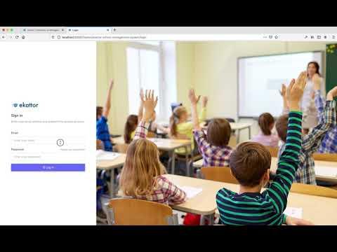 Ekattor School ERP Live Class Addon