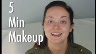 5 Minute Makeup Tutorial - Quick and Easy Thumbnail