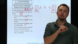 Sözel Mantık Soru 3 Orkun DİKMEN (sıralama tablosu)