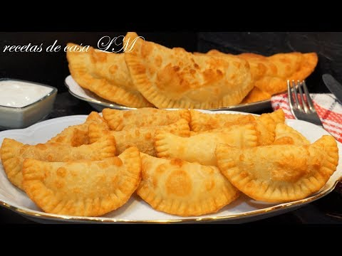 MASA DE EMPANADILLAS PARA FREIR SIN HUEVO LA AUTENTICA solo 3 INGREDIENTES