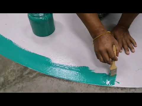 Easy DIY Epoxy paint anti-slip powder coating and finish colours matt by wision paint sdn bhd 019-28