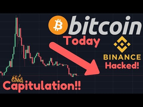 Bitcoin Capitulation Soon? | Binance Hacked!! User KYC Information Stolen!!