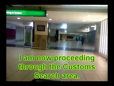 Customs At OR Tambo Intl Airport 2.wmv