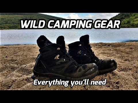 WILD CAMPING GEAR LIST/ IRELAND/ EVERYTHING YOU NEED