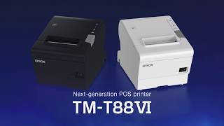 The tm-t88vi is a state-of-the-art receipt printer, offering fast print speeds and high reliability, with advanced features to support coexistence of tra...
