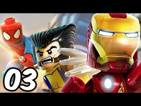 LEGO Marvel Super Heroes - Let's Play #03 Deutsch - Venom mag kein Dubstep