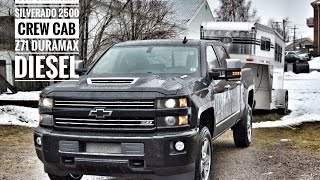 2017 Chevrolet 2500 Z71 DuraMax Diesel Crew Cab Road Test and Review