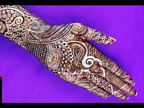 Super Intricate Bridal Henna Design