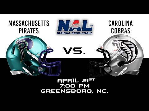 Massachusetts Pirates vs Carolina Cobras