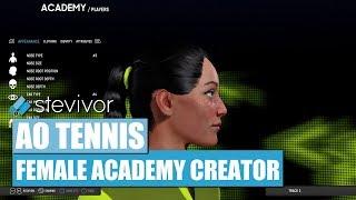 آو التنس: أنثى أكاديمية الخالق | Stevivor