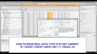 HOW TO READ REAL DATA TYPE IN S7.NET LIBRARY(S7-1200/S7-1500 WITH VISUAL C#)