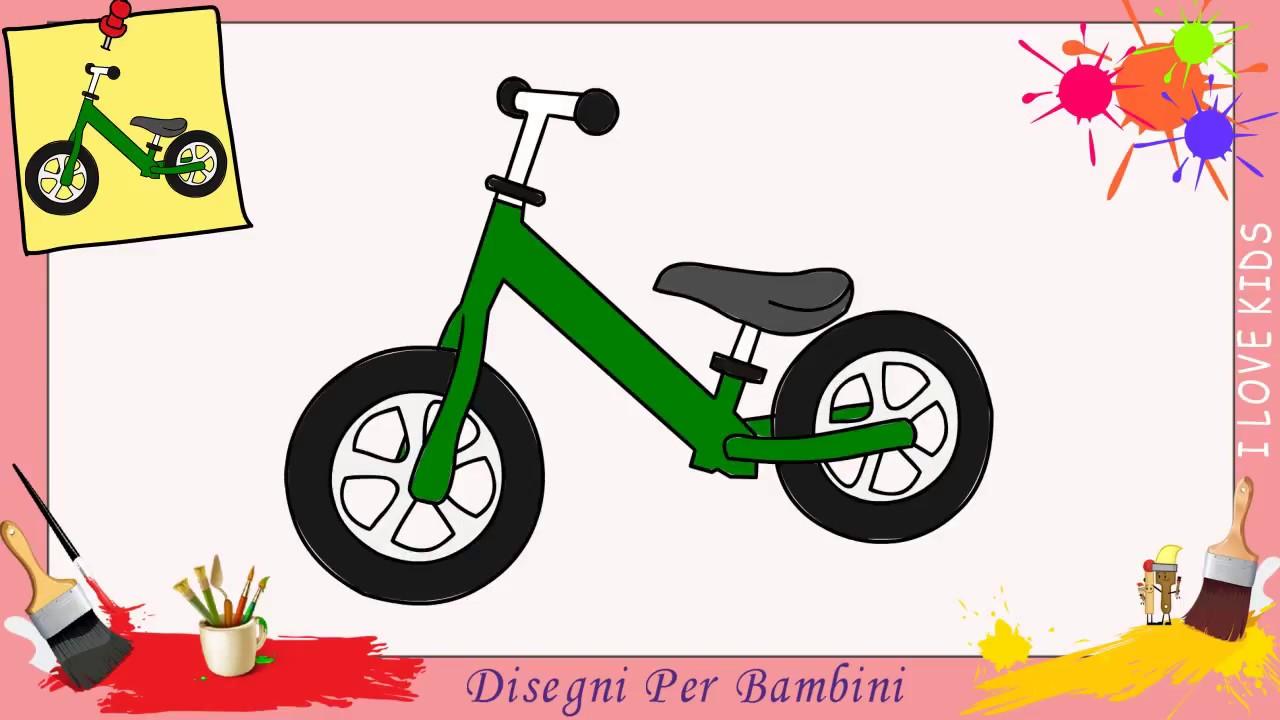 Disegni Di Biciclette Facili Per Bambini Come Disegnare Una Bicicletta
