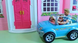 Мультик с куклами Пупсики Барби родила 4 малыша Игры с куклами для девочек Barbie dolls videos