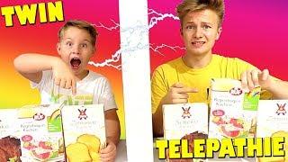 TWIN TELEPATHIE Challenge 😁 Kuchen Challenge 🎂 TipTapTube Family 👨👩👦👦