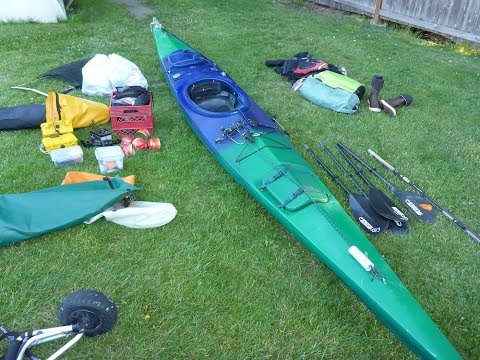 Packing for Solo Kayak Expedition to Alaska