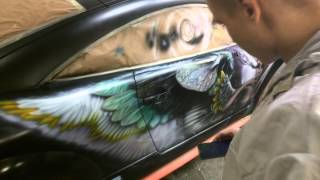 Мади-тюнинг(Обзор светящейся в темноте краски)