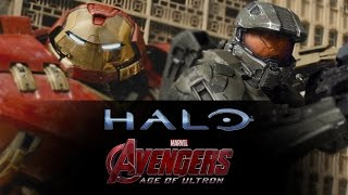 The Avengers: Age of Ultron (Trailer #1) - Halo Cinematic Mashup - HD [720p]