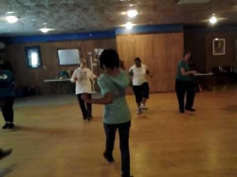 Zydeco bounce line dance youtube.