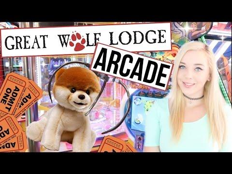 Great Wolf Lodge Arcade Garden Grove - Claw Machines & Ticket Games!