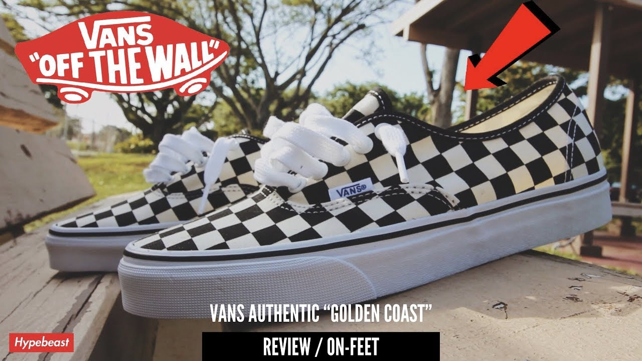 4c4514abef0c MY FIRST SNEAKER PICKUP OF 2018!! VANS CHECKERED AUTHENTICS