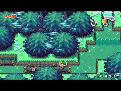 The Legend Of Zelda: The Minish Cap - Part 1: Deepwood Shrine