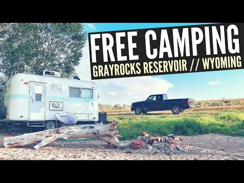 FREE CAMPING at Grayrocks Reservoir in Wheatland, WY 🚐🇺🇸 RV