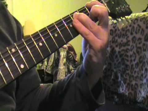 damageplan blunt force trauma guitar lesson